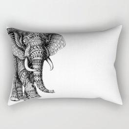 Ornate Elephant v.2 Rectangular Pillow
