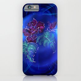 Abstract in perfection - Fertile Imagination Rose 2 iPhone Case
