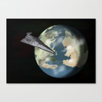 westeros Canvas Prints featuring Entering Orbit  by Astralview