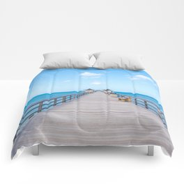 On the Pier Comforters