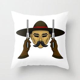 The Working Man  Throw Pillow