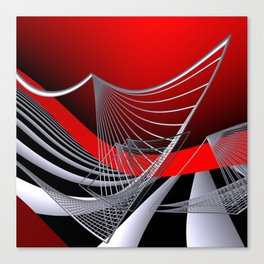 experiments on geometry -11- Canvas Print