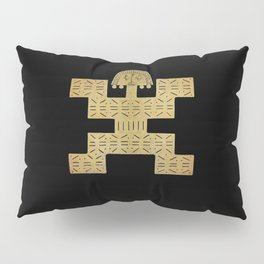 Pectoral Pre-Columbian Gold Piece Pillow Sham