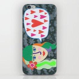 Paper Dollies - LoveTalk iPhone Skin
