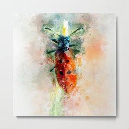 The red beetle Metal Print