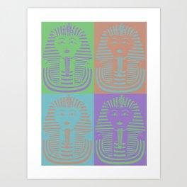 King Tut Art Print