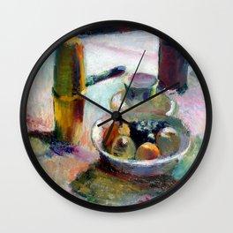 Henri Matisse Fruit and Coffeepot Wall Clock