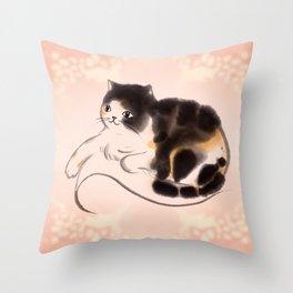 Queen Fa Throw Pillow