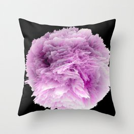 Fantasy Sea Anemone in Lilac Pink Throw Pillow