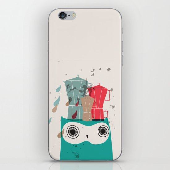 Owl Aloud iPhone & iPod Skin