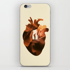 Heart Explorer iPhone Skin