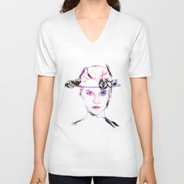 Celldweller Barbara Palvin Unisex V-Neck
