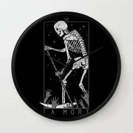 La Mort Wall Clock