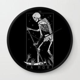 La Mort Wall Clock