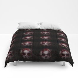 Thousands of skulls Comforters