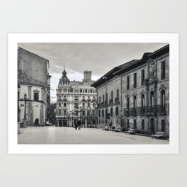 Afternoon in Oviedo Art Print