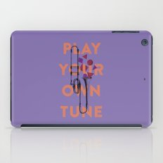 Play you own tune iPad Case