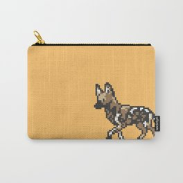 8-bit African Wild Dog Carry-All Pouch
