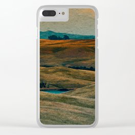 The Beauty of Nothing and Nowhere Clear iPhone Case