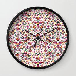 Mexico Otomi Wall Clock