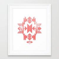 tribal Framed Art Prints featuring Tribal by Molnár Roland
