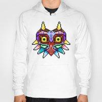 majoras mask Hoodies featuring Majoras Mask /Pixel /zelda by tshirtsz