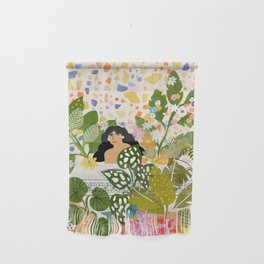 Bathing with Plants Wall Hanging
