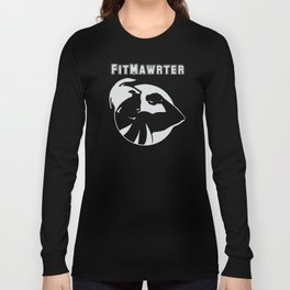 FitMawrter Design in White Long Sleeve T-shirt