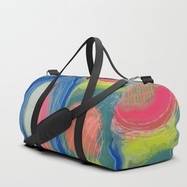 Abstract Shelter Duffle Bag