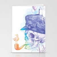 sailor Stationery Cards featuring Sailor by dogooder