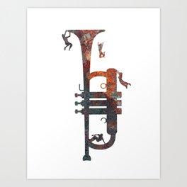Jazzed Art Print
