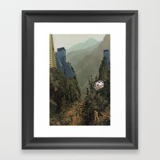 Huida Framed Art Print