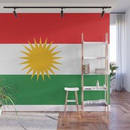Flag of Kurdistan Wall Mural