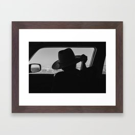 West Texas Explorer Framed Art Print