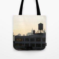 Queensboro Plaza Tote Bag