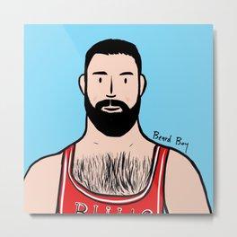 Beard Boy: Adrian Metal Print