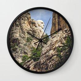 George Washington's Profile Wall Clock