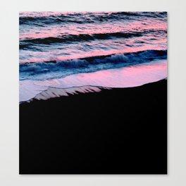 Strawberry sea forever Canvas Print
