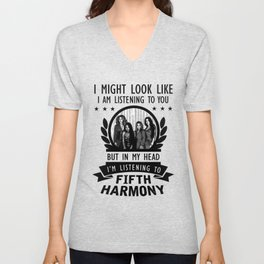 FIFTH HARMONY QUOTES Unisex V-Neck