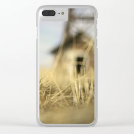 """""""Lo-Fi""""  / Old Barn Buildings Clear iPhone Case"""