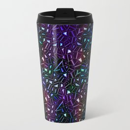 Midnight Rainbow Glitter Travel Mug