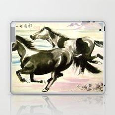 running horses Laptop & iPad Skin