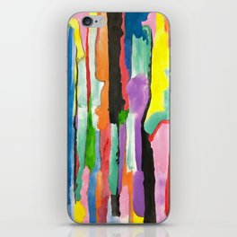 Colours Abstract iPhone Skin