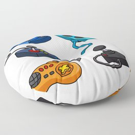 Video Game  Controls Floor Pillow