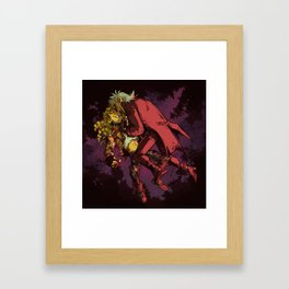 Lost In The Night Framed Art Print