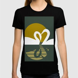 Swans at Sunset T-shirt