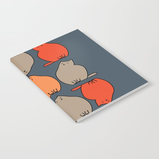 Autumn cat Notebook