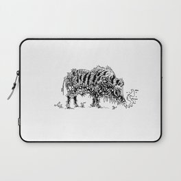 Winter Boar Laptop Sleeve