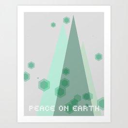 Peace on Earth Artwork Art Print