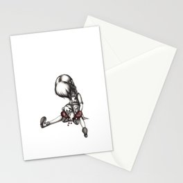 Heartbroken Little Girl Stationery Cards